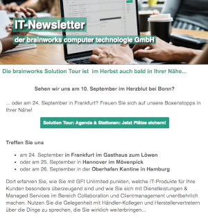 brainworks Newsletter