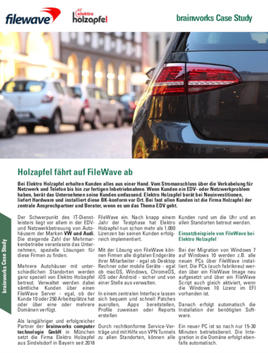 fileWave Case Study